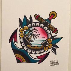Tattoo Sketches, Tattoo Drawings, Body Art Tattoos, Sleeve Tattoos, Desenhos Old School, Loyalty Tattoo, Storm Tattoo, Japanese Tattoos For Men, Tropical Tattoo