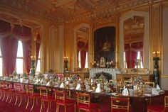 The magnificent Semi-State Rooms at Windsor Castle