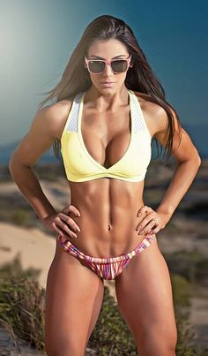 Carol Saraiva...maybe my new favorite fitness star.