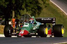1985 GP Europy (Brands Hatch) Alfa Romeo 184TB (Eddie Cheever)