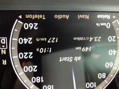 MB S600 Man beachte den Durchschnittsverbrauch! Auch nicht schlecht: 127 km/h! Vehicles, Vehicle