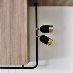 track lighting | black and brass light fittings | Wil & Co, by mim design - multi residential project