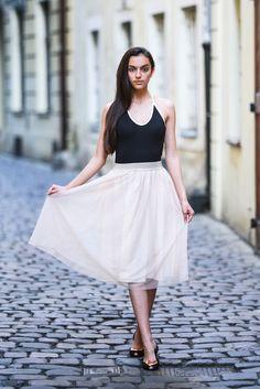 model Nicole Kożuchowska - like a princess
