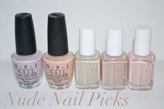 nude nail picks