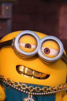 ↑↑TAP AND GET THE FREE APP! Art Cartoon Fun Despicable Me Minions 2015 Blue Yellow HD iPhone 4 Wallpaper