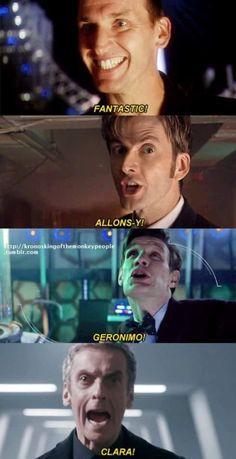 el doctor who y sus frases