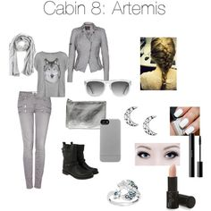 Cabin 8: Artemis | Zabolicious | Percy Jackson and the Olympians | Mythology | Fashion