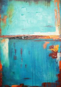 A wonderfully balanced treatment of the subject matter (colour blue) in its various textures and treatments produces a balance and harmony that pays homage to the abstract expressionist movement in a most contemporary and relevant piece of modern canvas art.