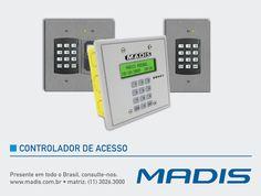 A MADIS apresenta soluções de Controlador de Acesso dispondo da mais ampla linha de equipamentos versáteis e altamente seguros no controle de acesso a todos os ambientes, comerciais, públicos ou privados. Todos os equipamentos da linha de Controlador de Acesso da MADIS possuem design arrojado e fácil manuseio.