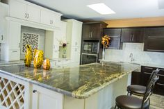 A kitchen remodel is