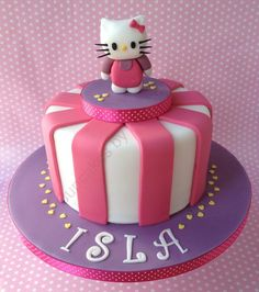 Hello Kitty Cake by CupcakesbyAmanda