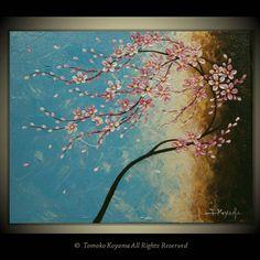 Original Impasto Acrylic Modern Abstract Art  Painting on