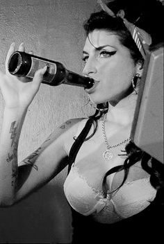 Amy Winehouse was one trashy lady. But she did have one hell of a voice.