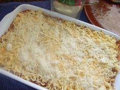 Pastel gratinado de carne y calabacín Receta de Cuqui - Cookpad