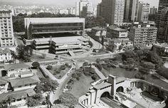 Vista do mirante na década de 1960