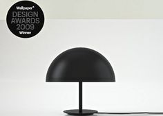 The Mater Dome Lamp is an award winning piece of luminaire designed by Todd Bracher. Timeless and iconic with a spherical shade, which creates a gentle glow. Modern Lighting Design, Modern Design, Baby Dome, Concierge, Scandinavian Modern, Design Awards, Designer Wallpaper, Glow, Table Lamp