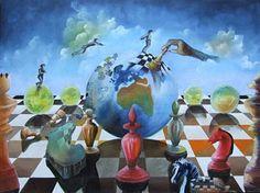 Peintures d'échecs