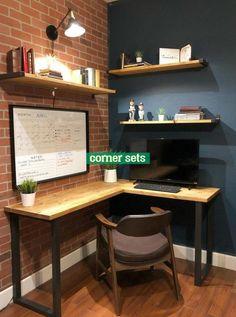House Of Rumours Houseofrumours Corner Desk Shelves # haus der gerüchte houseofrumours eckschreibtisch-regale