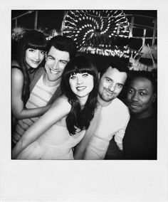 The New Girl. Best cast on tv today <3