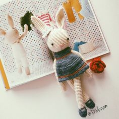 amigurumi - I love books like these. Characters with clothes & stories.