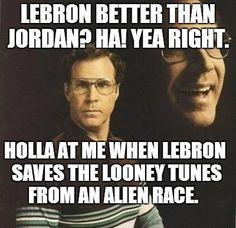 will ferrell memes | Lebron Better than Jordan? Is Will Ferrell a Looney Tune?