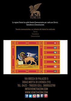 La Regione Veneto ha scelto Venetia Communication per le sue Consulenze, Immagine e Comunicazione