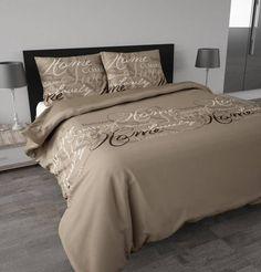 Dekbedovertrek Royal Luxury taupe van Sleeptime.