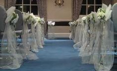 wedding aisle decoration - Google Search