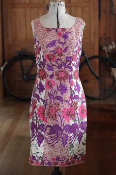 Vintage Cotton Floral Summer Dress by twosquirrelsvintage on Etsy