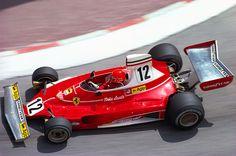 Niki Lauda Monaco GP 1975 Ferrari 312T Most beautiful Ferrari 0f the 70's
