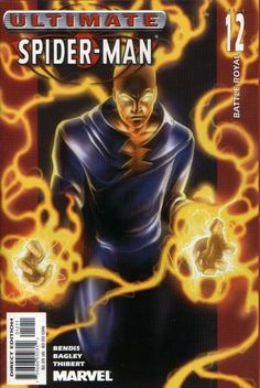 Ultimate Spider-man # 2 VF Print Variant Cover Marvel Comic Book for sale online Marvel Comic Books, Marvel Characters, Comic Books Art, Marvel Comics, Comic Art, Book Art, Buy Comics, Comics Online, Marvel Ultimate Spider Man