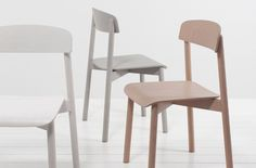 Simple & Precise – Woodwork by German Workshop Stattmann Neue Moebel – OEN Fine Furniture, Furniture Design, Chair Design Wooden, Industrial Dining Chairs, Love Chair, Outdoor Dining Chair Cushions, Stackable Chairs, Adirondack Chairs, Modern Chairs