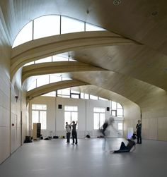 Sarah Wigglesworth Architects - Siobhan Davies Dance Centre (studios)