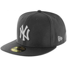 NEW ERA MLB Basic NY 59fifty Cap - anthrazit