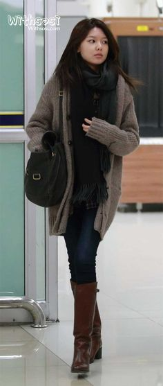 SNSD Sooyoung Winter Style
