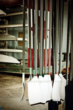 oh rowing, how I miss you so...#rowing #rowperfect -- as well as the old style oars...