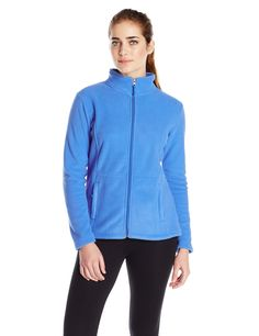 White Sierra Women's Mountain Jacket, Medium, Blue Ice