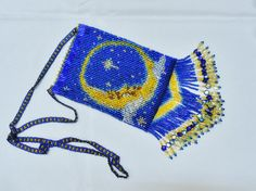Celestial Beaded Bag by SmpFb on Etsy, $150.00