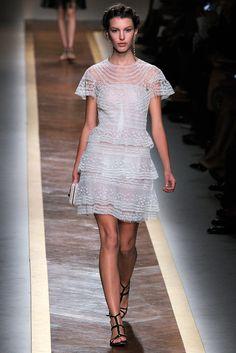 Valentino RTW S/S 2012.  Model - Kate King.