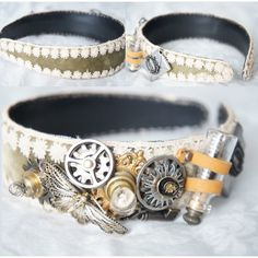 Steampunk Head Band - Steam Punk Costume - Steampunk Head Piece -... ($129) ❤ liked on Polyvore