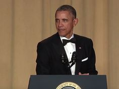 President Obama was in rare form at the White House Correspondents Dinner. Here are his 10 best jokes.