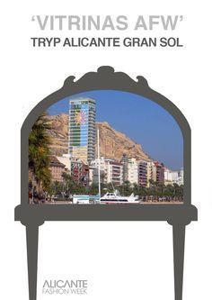 Durante la semana de la moda no olvides pasarte por nuestras vitrinas, como la que habrá en el Hotel Tryp Gran Sol