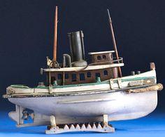 The tugboat Cora