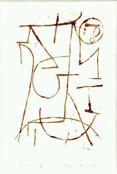 Inner Forces   Paul Klee, 1939