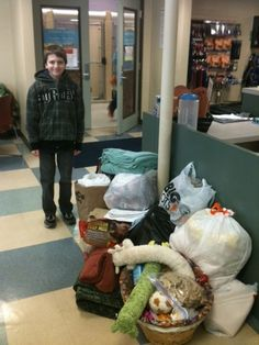 Jaedon Stoner, a Happy Valley Middle School sixth grader, spent a recent three-day weekend gathering donations for Clackamas County Dog Services. He raised $73 and more than three wagon loads of dog food, toys, blankets and other supplies as part of his donation project for his leadership class. The community can learn about volunteer opportunities and meet some adoptable dogs at an open house from noon to 5 p.m. Monday at the center in Clackamas.