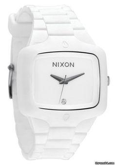 Nixon The Rubber Player White Men´s Watch $234 #watch #watches white silicon bracelet
