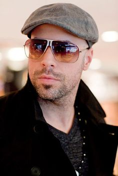 Chris Daughtry.  Love the music.  Love that he's a family man.  Doesn't hurt that he's easy on the eyes, too!