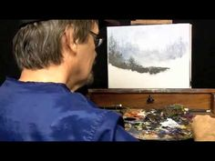 Artist Bill Pattison continues his pallet knife painting by bringing more foreground into the scene. Watch as Bill uses the pallet knife to create depth in t. Oil Painting Lessons, Acrylic Painting For Beginners, Acrylic Painting Techniques, Painting Videos, Art Techniques, Pallet Painting, Palette Knife Painting, Acrylic Tutorials, Cool Wall Art