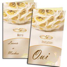 Dans notre logiciel vous trouvez une grande sélection de cartes d'invitation http://www.livret-mariage.fr/cartes-mariage.html