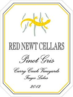 2012 Red Newt Curry Creek Vineyard Pinot Gris 750 mL -- You can find out more details at the link of the image.